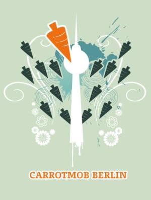 carrotmob berlin carrotmob Berlin  Geschäfte werden grün gegen Umsatz