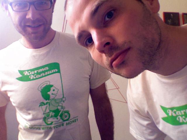karmakonsum shirts KarmaKonsum verlost T Shirts