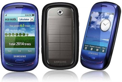 samsung blue earth 400x269 Samsung Blue Earth  Solar Handy