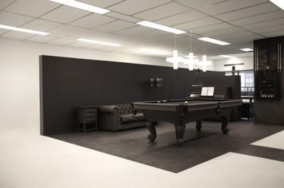 gummo 400x266 Nachhaltige Büroeinrichtungen  bei den Agenturen Nothing und i29