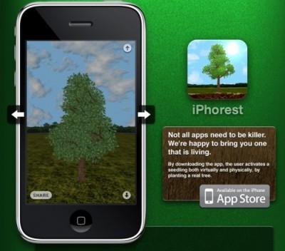 iphorest 400x352 iPhorest  mit dem iPhone einen Baum pflanzen Teil 2