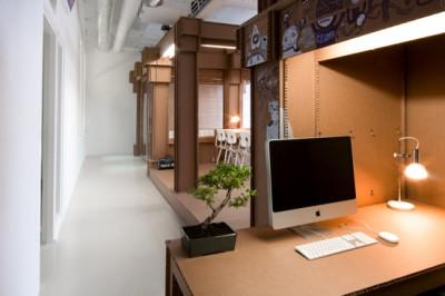 nothing 400x266 Nachhaltige Büroeinrichtungen  bei den Agenturen Nothing und i29