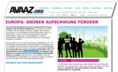 petition green new deal 400x244 Petition für einen Green New Deal  Mitmachen und Weitersagen