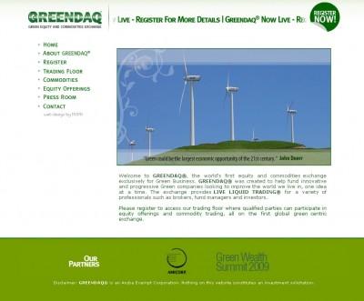 greendaq 400x331 GREENDAQ  Weltweit erste Ökobörse startet