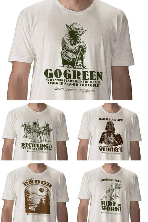 greenstarwars Star Wars Organic  Die Rückkehr der Öko Ritter