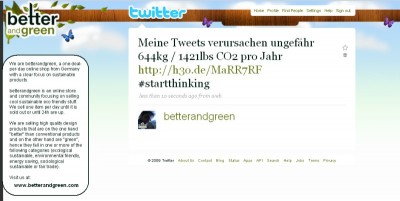 twitter co2 400x201 Twitter ein CO2 Monster?