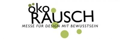 oekorausch logo2 400x132 ökoRausch 2009  Messe für Design mit Bewusstsein
