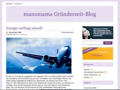 manomama 400x299 Blogempfehlung  manomama Gründerzeit Blog